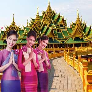 TOUR THÁI LAN 5 NGÀY TỪ HÀ NỘI BAY VIETNAM AIRLINES