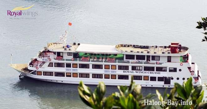 Du thuyền Royal Wings Cruise Tàu 5 Sao
